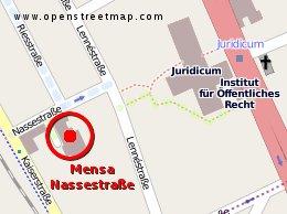 LBST-Referat: Nassestraße 11, Zimmer 11 auf dem AStA-Flur